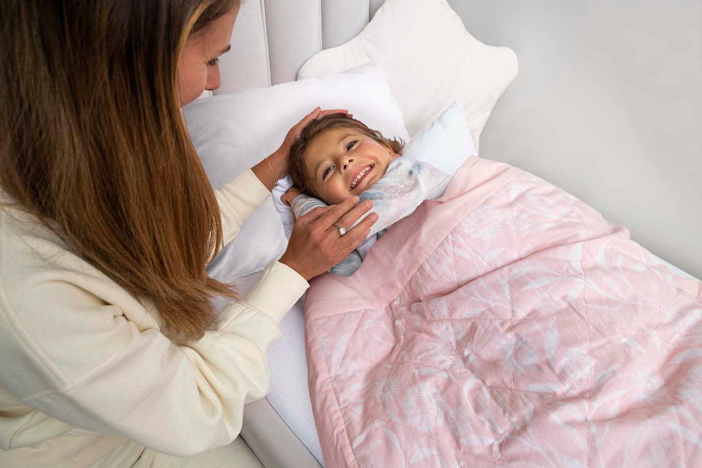couverture lestée pour enfant