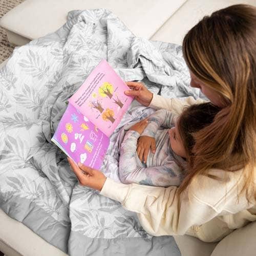 livre de lecture de maman sous le couverture lestée zenith